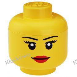 POJEMNIK LEGO GŁÓWKA DZIEWCZYNKA L - LEGO POJEMNIKI Creator