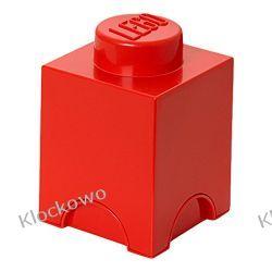 POJEMNIK LEGO 1 CZERWONY - LEGO POJEMNIKI Kompletne zestawy
