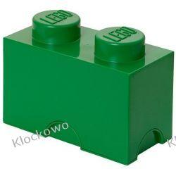 POJEMNIK LEGO 2 CIEMNOZIELONY - LEGO POJEMNIKI Ninjago