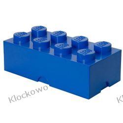 POJEMNIK LEGO 8 NIEBIESKI - LEGO POJEMNIKI Inne zestawy