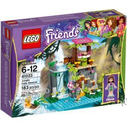 41033 DZIKIE WODOSPADY (Jungle Falls Rescue) KLOCKI LEGO FRIENDS