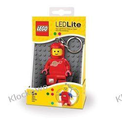 MINI LATARKA LED LEGO - KOSMONAUTA CZERWONY (Spaceman Key Light) - BRELOK  Pozostałe