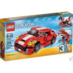 31024 CZERWONE KONSTRUKCJE (Roaring Power) KLOCKI LEGO CREATOR