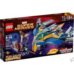 76021 STATEK KOSMICZNY MILANO (The Milano Spaceship Rescue) - KLOCKI LEGO SUPER HEROES Kompletne zestawy