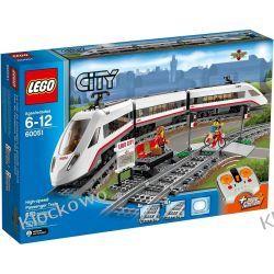 60051 SUPER SZYBKI POCIĄG PASAŻERSKI (High-Speed Passenger Train) KLOCKI LEGO CITY Kompletne zestawy