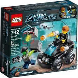 70160 POŚCIG QUADEM (Riverside Raid) - KLOCKI LEGO AGENTS Kompletne zestawy