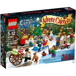 60063 KALENDARZ ADWENTOWY LEGO CITY (City Advent Calendar) KLOCKI LEGO CITY