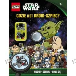KSIĄŻKA LEGO® Star Wars™. Gdzie jest droid-szpieg?
