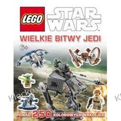 KSIĄŻKA LEGO® Star Wars™. WIELKIE BITWY JEDI Playmobil