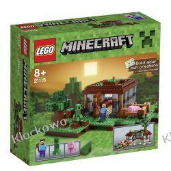 21115 - MINECRAFT PIERWSZA NOC - KLOCKI LEGO MINECRAFT Budowa