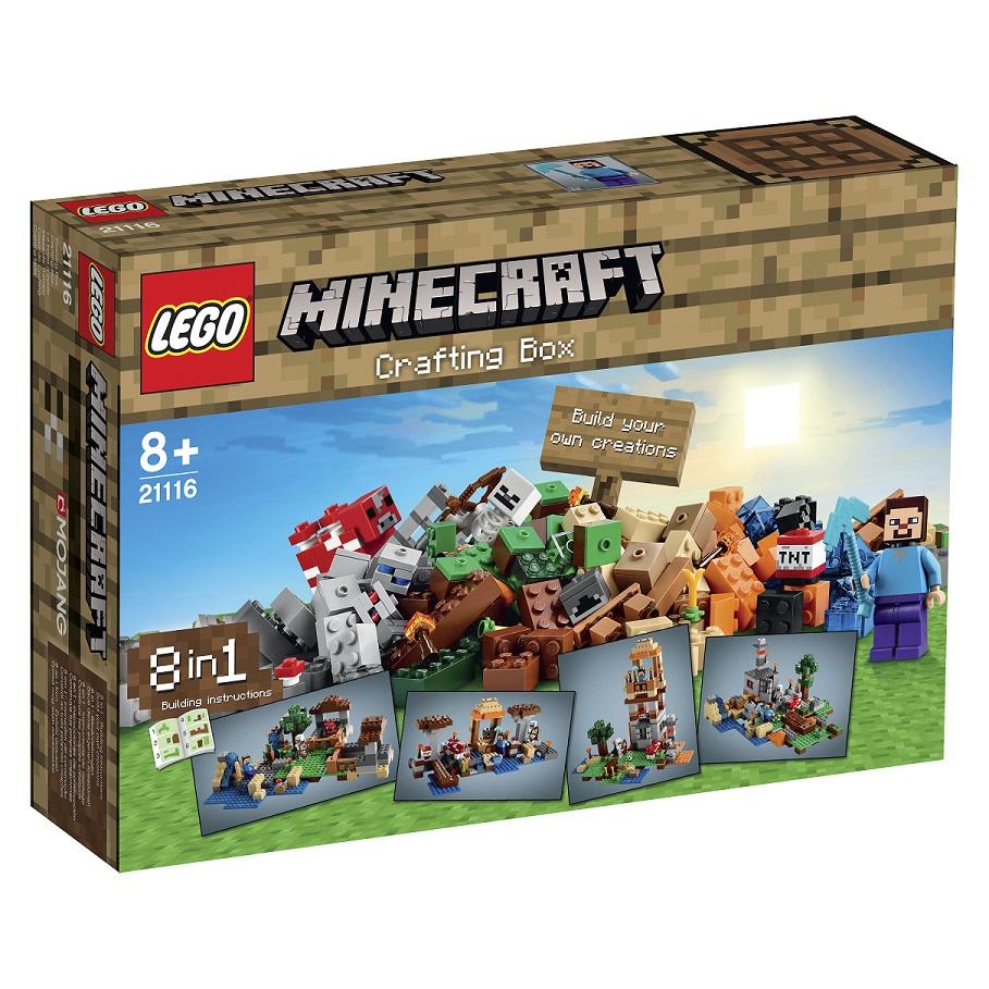 21116 Minecraft Kreatywny Warsztat Klocki Lego Minecraft Na