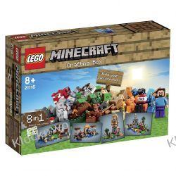 21116 - MINECRAFT KREATYWNY WARSZTAT- KLOCKI LEGO MINECRAFT Kompletne zestawy