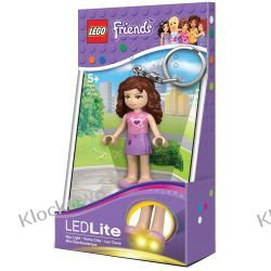 MINI LATARKA LED LEGO KEY LIGHT - LEGO FRIENDS OLIVIA- BRELOK Kompletne zestawy