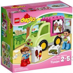 10586 FURGONETKA LODZIARZA (Ice Cream Truck) KLOCKI LEGO DUPLO  Kompletne zestawy