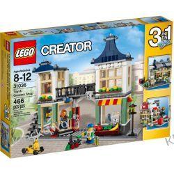 31036 SKLEP Z ZABAWKAMI I OWOCAMI (Toy & Grocery Shop) KLOCKI LEGO CREATOR Playmobil
