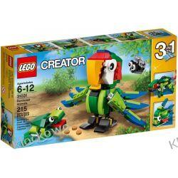 31031 ZWIERZĘTA Z LASU DESZCZOWEGO (Rainforest Animals) KLOCKI LEGO CREATOR Kompletne zestawy
