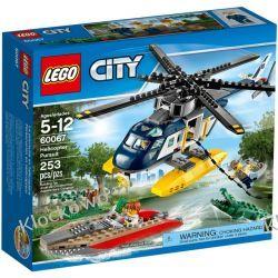 60067 POŚCIG ŚMIGŁOWCEM (Helicopter Pursuit) KLOCKI LEGO CITY Playmobil