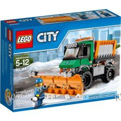 60083 PŁUG ŚNIEŻNY (Snowplough Truck) KLOCKI LEGO CITY