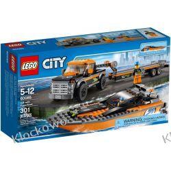60085 TERENÓWKA Z MOTORÓWKĄ (4x4 with Powerboat) KLOCKI LEGO CITY