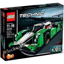 42039 SUPERSZYBKA WYŚCIGÓWKA (24 Hours Race Car) KLOCKI LEGO TECHNIC Kompletne zestawy