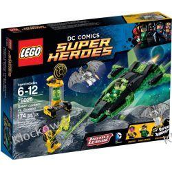 76025 ZIELONA LATARNIA KONTRA  SINESTRO (Green Lantern vs. Sinestro) - KLOCKI LEGO SUPER HEROES