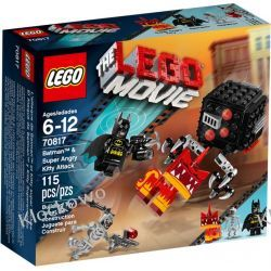70817 BATMAN I ZŁA KICIA (Batman & Super Angry Kitty Attack) KLOCKI LEGO MOVIE
