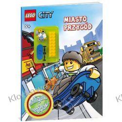 KSIĄŻKA LEGO CITY - MIASTO PRZYGÓD