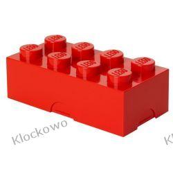 POJEMNIK LEGO 8 CZERWONY - LEGO POJEMNIKI Playmobil