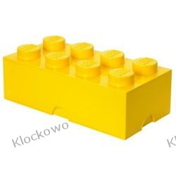 POJEMNIK LEGO 8 ŻÓŁTY - LEGO POJEMNIKI Pirates