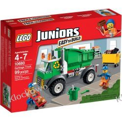 10680 - ŚMIECIARKA (Garbage Truck) - KLOCKI LEGO JUNIORS Kompletne zestawy