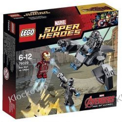 76029 IRON MAN VS SUB ULTRON (Iron Man vs. Ultron) - KLOCKI LEGO SUPER HEROES Ninjago