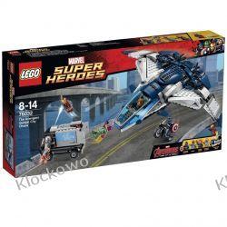 76032 POŚCIG AVENGERSÓW W QUINJECIE (The Avengers Quinjet Chase) - KLOCKI LEGO SUPER HEROES Kompletne zestawy