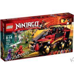 70750 NINJA DB X (Ninja DB X) KLOCKI LEGO NINJAGO Playmobil
