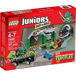 10669 - JASKINIA ŻÓŁWIA (Turtle Lair) - KLOCKI LEGO JUNIORS Kompletne zestawy