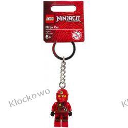 851351 BRELOK CZERWONY NINJA KAI (Ninja Kai Key Chain) - LEGO NINJAGO Kompletne zestawy