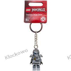 851352 BRELOK  NINJA ZANE (Keychain Titanium Zane) - LEGO NINJAGO