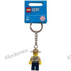 853463  BRELOK Z FIGURKĄ POLICJANTA (Swamp Police Key Chain) LEGO CITY