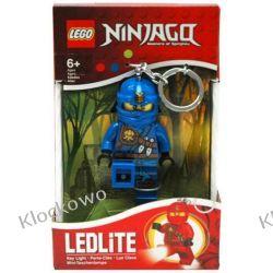 MINI LATARKA LED LEGO - NIEBIESKI NINJA JAY- BRELOK