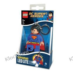 MINI LATARKA LED LEGO - SUPERMAN - BRELOK