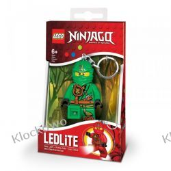 MINI LATARKA LED LEGO - ZIELONY NINJA LLOYD- BRELOK
