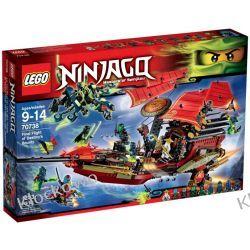 70738 OSTATNI LOT PERŁY PRZEZNACZENIA (Final Flight of Destiny's Bounty) KLOCKI LEGO NINJAGO