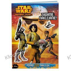 KSIĄŻKA Star Wars™ Rebelianci. Zadanie: naklejanie! Playmobil
