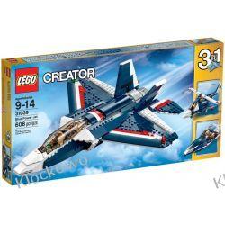 31039 BŁĘKITNY ODRZUTOWIEC (Blue Power Jet) KLOCKI LEGO CREATOR