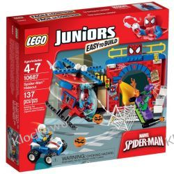 10687 - KRYJÓWKA SPIDERMANA (Spider-Man Hideout) - KLOCKI LEGO JUNIORS Atlantis