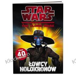 KSIĄŻKA Star Wars: The Clone Wars – Łowcy holokronów Playmobil