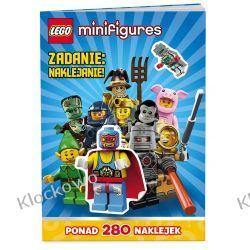 KSIĄŻKA LEGO® Minifigures. Zadanie: naklejanie Playmobil