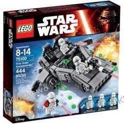75100 First Order Snowspeeder KLOCKI LEGO STAR WARS  Kompletne zestawy