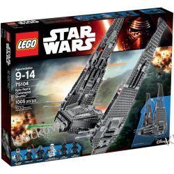 75104 Kylo Ren's Command Shuttle KLOCKI LEGO STAR WARS  Playmobil