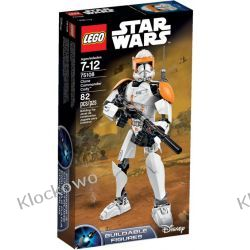 75108 Clone Commander Cody KLOCKI LEGO STAR WARS  Playmobil