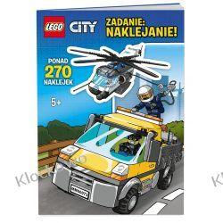 KSIĄŻKA LEGO CITY - ZADANIE NAKLEJANIE Kompletne zestawy